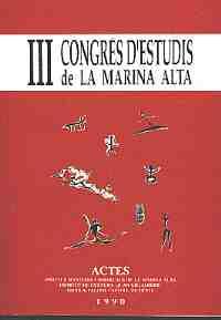 Actes del III Congrés d'Estudis de la Marina Alta (1990)